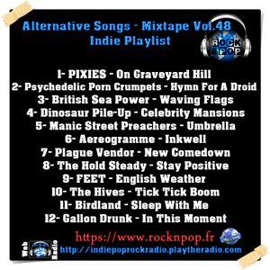 Alternative Songs- Mixtape Vol.48 / Indie Playlist
