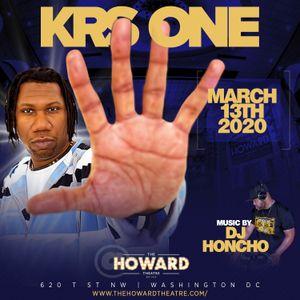 DJ Honcho - Pre Howard Theatre KRS-One Promo Mix 3.4.20