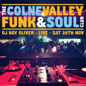 Boy Oliver Live at Colne Valley Funk & Soul Club 29/11/14