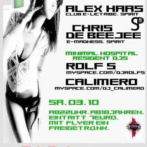 Alex Haas @ Tara Club_04.10.2009