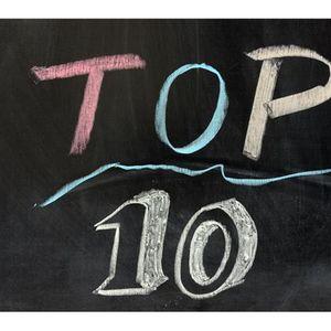 """""""Kent's Random Top 10's"""""""