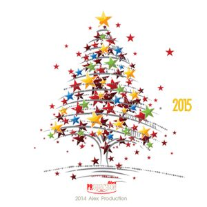 Merry Christmas & Happy New Year 2015 form Alex Parepko