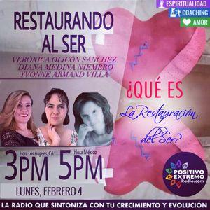 RESTAURANDO AL SER 02.04.19 QUE ES LA RESTAURACION DEL SER