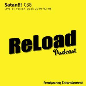 ReLoad Podcast 038 : Live at Fusion Dusk (2011-02-05)
