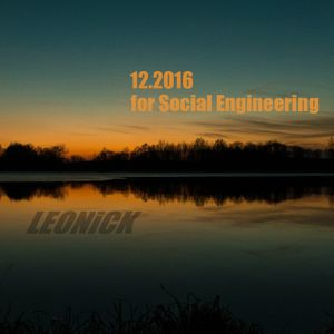 12.2016 mix for Social Engineering