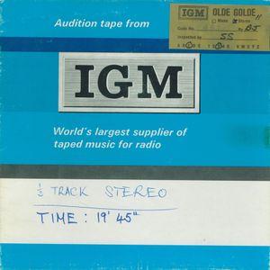"Automated Radio =>>  ""Olde Golde"" from IGM International Good Music  <<= 1972 Audition Demo"