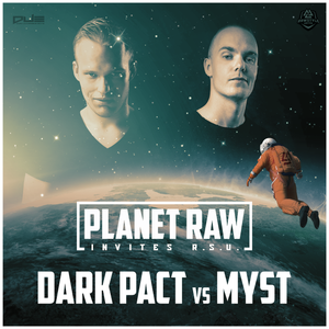 Planet Raw invites: Raw Style United - Promomix || Dark Pact