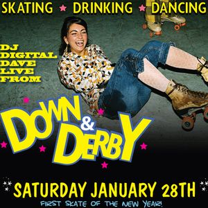 DJ Digital Dave Live From Down & Derby @ Belvedere's Ultra Dive 1-28-12