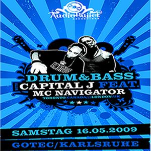 DJ CAPITAL J & MC NAVIGATOR - LIVE IN GERMANY 2009