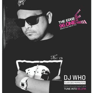 DJ Who - The Edge Radio Mix Episode 13 - Jan 06 2017