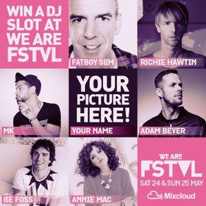 We Are FSTVL 2014 DJ Competition - KATJA GUSTAFSSON