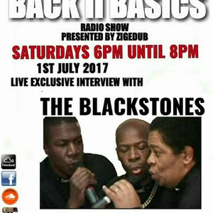 ZIGEDUB BACK 2 BASICS ON UNIQUEVIBEZ 1ST JULY 2017 FEAT THE BLACKSTONES