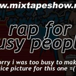 MIXTAPE 127 - RAP FOR BUSY PEOPLE