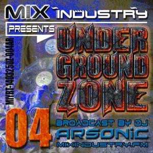 ► UNDERGRoUND ZoNE o4 [1994-2002] ► @ MIX INDUSTRY Radio