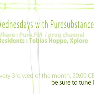 Wednesdays with Pure Substance on Pure.FM (.......19 nov 2014.......)