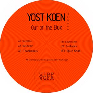 YOST KOEN - OUT OF THE BOX - VIPP AGFA RECORDINGS