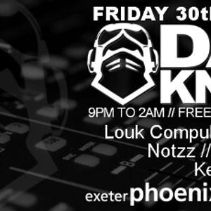 Louk - Live @ Dark Knights (Exeter) - 30-08-2013