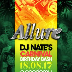 @DJNateUK Birthday Promo Mix 2017 - Allure