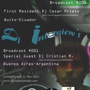 Cesar Prieto - Progressive Planet Radio Broadcast # 001 Nov 2011