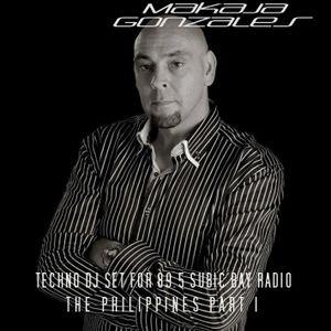 MaKaJa Gonzales - TECHNO DJ SET FOR 89.5 SUBIC BAY RADIO, THE PHILIPPINES, PART 1
