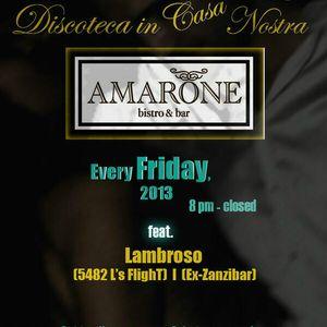 DJ Lambroso's Live @ Amarone Bistro & Bar (Closing Party).mp3