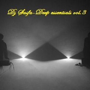 Dj Saifa-Deep essentials vol,3