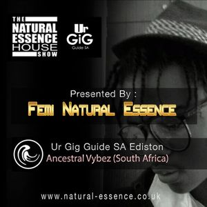 The Natural Essence House Show Episode 163 - ‎Ur Gig GuideSA‬ Edition - Ancestral Vybez