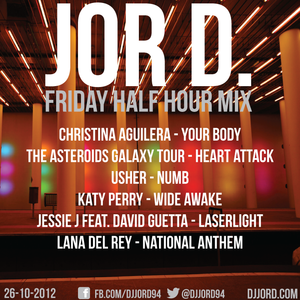 Friday Half Hour Mix 26-10-12