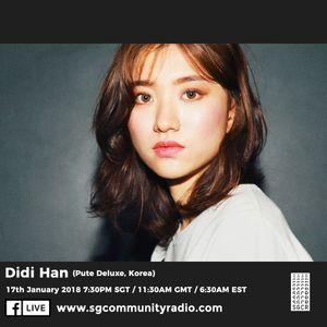 SGCR Radio Show #31 - 17.01.2018 Episode Part 1 ft. Didi Han (Deluxe Seoul)