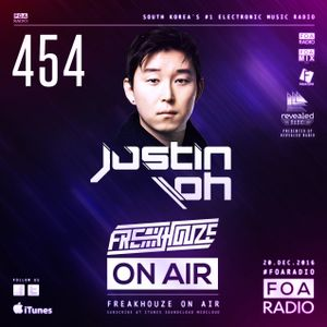 Freakhouze On Air 454 ● Justin Oh