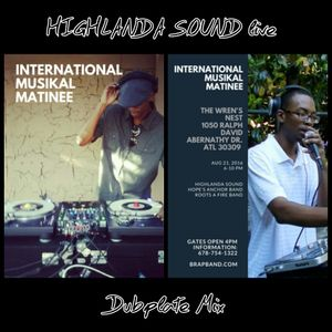 Live One Drop Dubplate Mix - Highlanda Sound (2016)