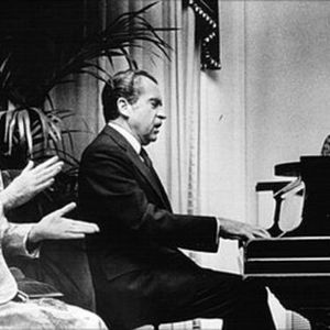 The Richard Nixon Piano Recital in Rumpus Room of the White House During the Peak of Watergate Show
