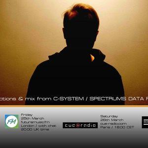 Bass Agenda 125: C-System/Spectrums Data Forces Interview & Mix