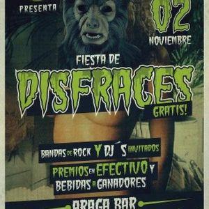 Carlos Cerda Live @ Araga Bar, fiesta de disfraces (02.11.12)