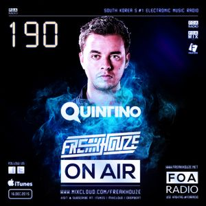 Freakhouze On Air 190 Mix by ● Quintino