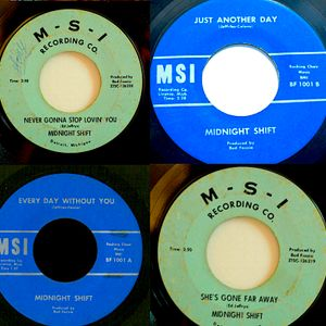 RICH & JOHNNY's INZANE MICHIGAN MIX= THE MIDNIGHT SHIFT FROM REDFORD TWP 1966