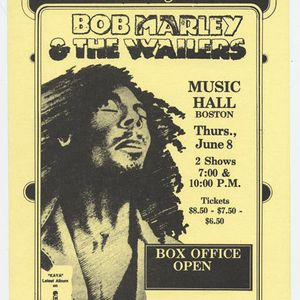 Bob Marley & the Wailers Live Boston Music Hall, June 8, 1978 (Late Show)
