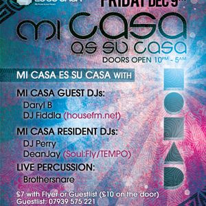 DeanJay Mix for Mi Casa Party 9th December  - SoulFly 33