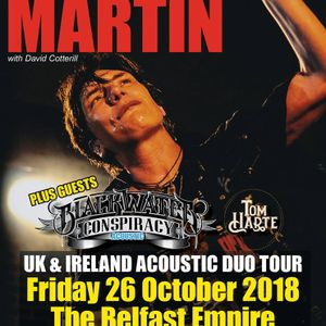 Interview with Eric Martin on the Friday NI Rocks Show 26th Oct 2018