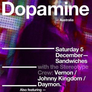 Johnny Kingdom live @ Sandwiches NZ warmup for DOPAMINE (2009)