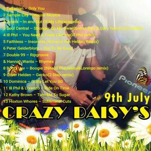 Andy Rowley Crazy Daisy's Summer Festival 2016 set