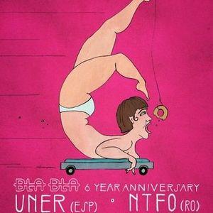 NTFO @ Bla Bla 6 Year Anniversary,Studio 80 (26-01-2013)