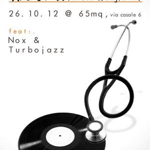 """The Specialists"" Nox + Turbojazz + Mr Guan @ 65mq Milano oct 2012"