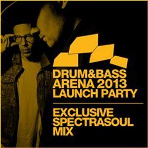 SpectraSoul (Shogun Audio) @ D&BA Blog Exclusive Mix March 2013 (12.03.2013)