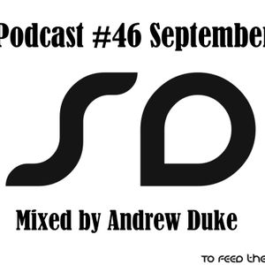 SoundDesigners Podcast #46 September Mixed By Andrew Duke