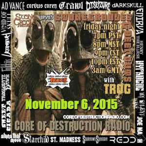 Stone Grooves & Deep Cuts on CoD Radio - November 6, 2015 [Rock Ave. Records Showcase]