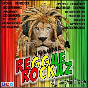 DJ Spitfire - Reggae Rockaz Vol.4