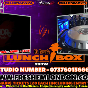 Mr Fresh Official's Lunchbox Show