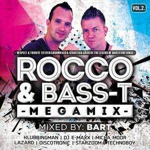 Rocco & Bass-T Megamix Vol.2. mixed by BART (2016)