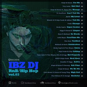 Ibz DJ RnB Hip Hop Volume 3